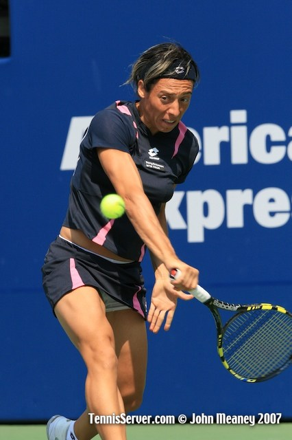 Tennis - Francesca Schiavone