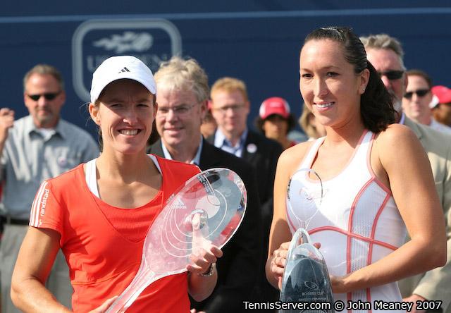 Tennis - Justine Henin - Jelena Jankovic