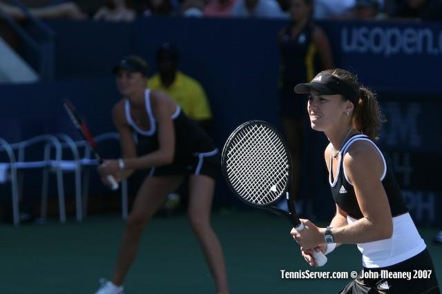 Tennis - Martina Hingis - Daniela Hantuchova