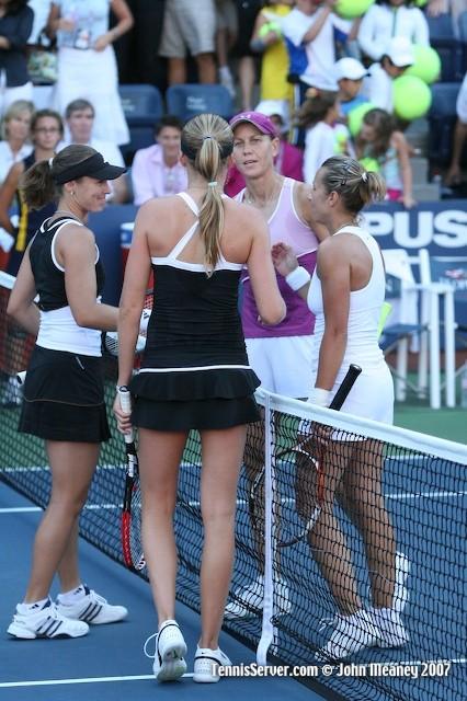 Tennis - Rennae Stubbs - Kveta Peschke - Martina Hingis - Daniela Hantuchova