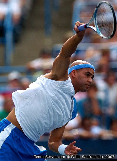 Tennis - James Blake