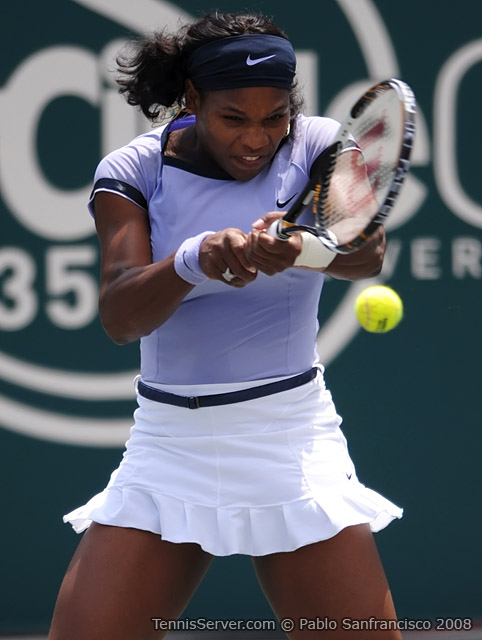 Serena Williams at 2008 Family Circle Cup