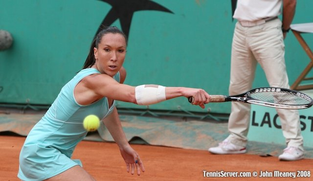 Jelana Jankovic at 2008 French Open Tennis