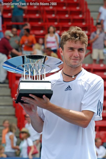 Gilles Simon at 2008 Indianapolis Tennis Championships