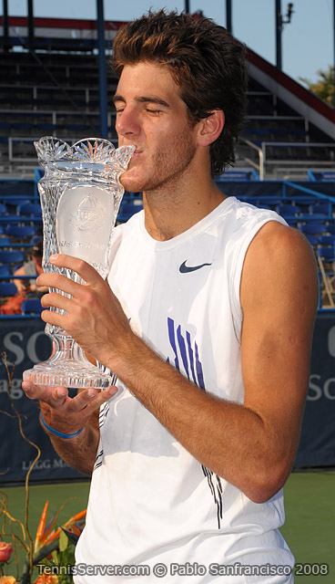 Legg Mason 2008 Champion Juan Martin del Potro