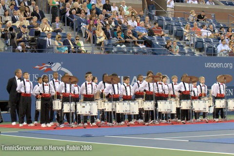 Tennis - 2008 US Open Opening Night Ceremonies