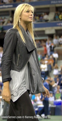 Tennis - 2008 US Open Opening Night Ceremonies - Maria Sharapova