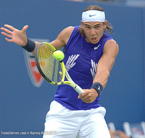 Rafael Nadal at US Open 2008