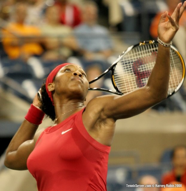Serena Williams at US Open 2008