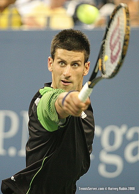 Novak Djokovic at US Open 2008