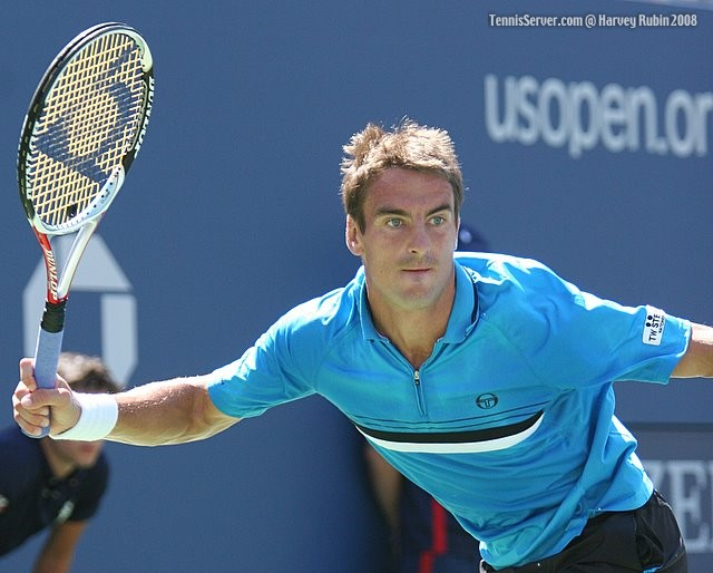 Tommy Robredo at US Open 2008