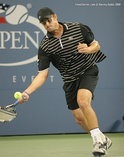 Andy Roddick at US Open 2008