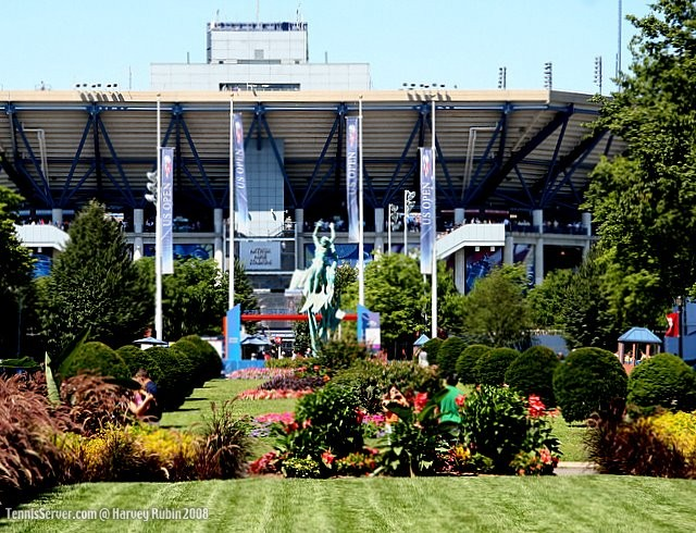 Tennis - US Open Grounds