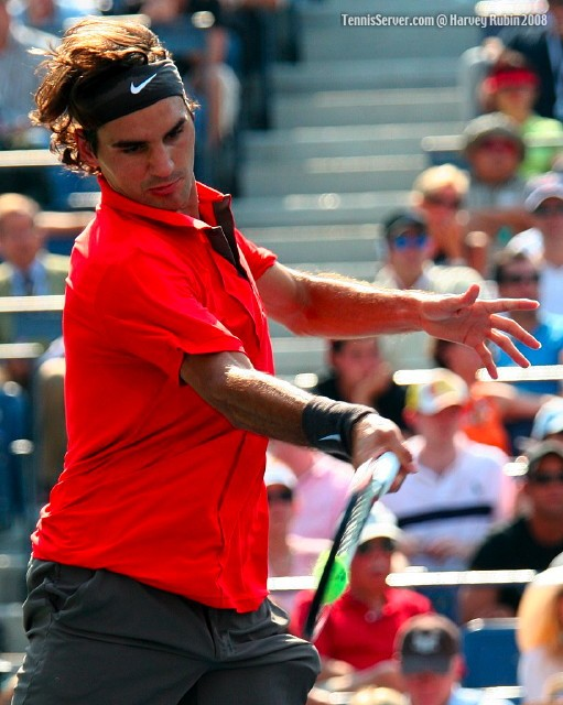 Roger Federer at US Open 2008
