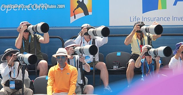 Tennis - Australian Open Photographers