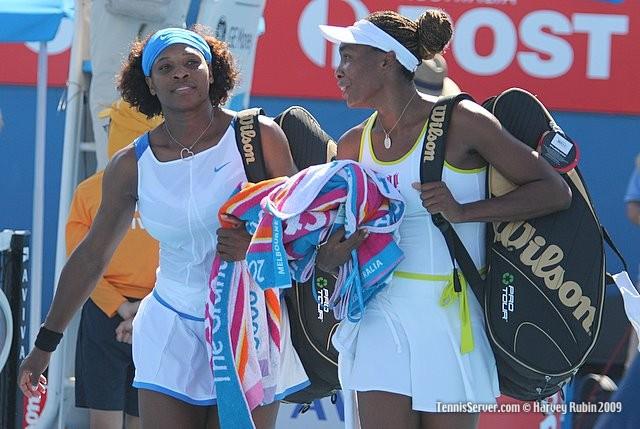 Tennis - Serena Williams - Venus Williams