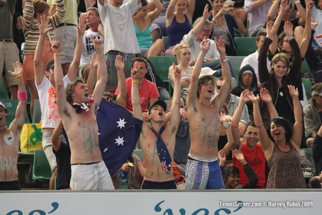Tennis - Australian Open Fans for James Blake