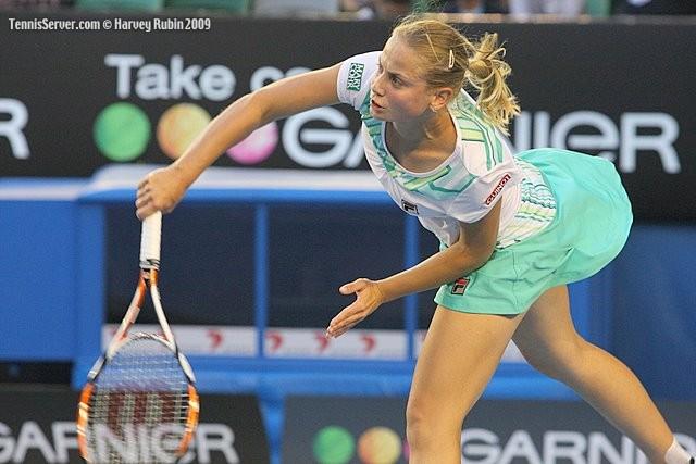 Jelena Dokic at 2009 Australian Open