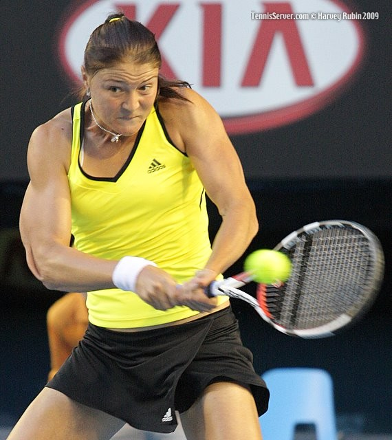 Darina Safina at 2009 Australian Open