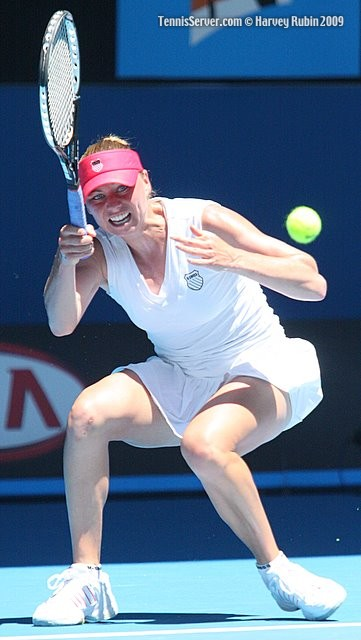 Vera Zvonareva at 2009 Australian Open