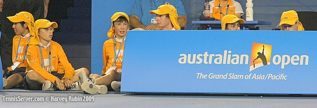 Tennis - Australian Open Ball Kids