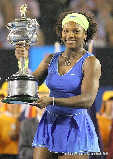 Serena Williams at 2009 Australian Open