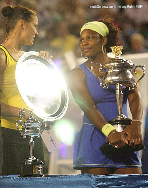 Tennis - Serena Williams - Darina Safina