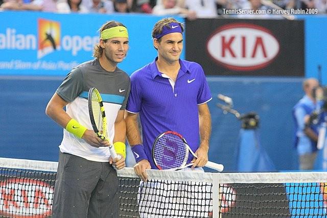 Tennis - Rafael Nadal - Roger Federer
