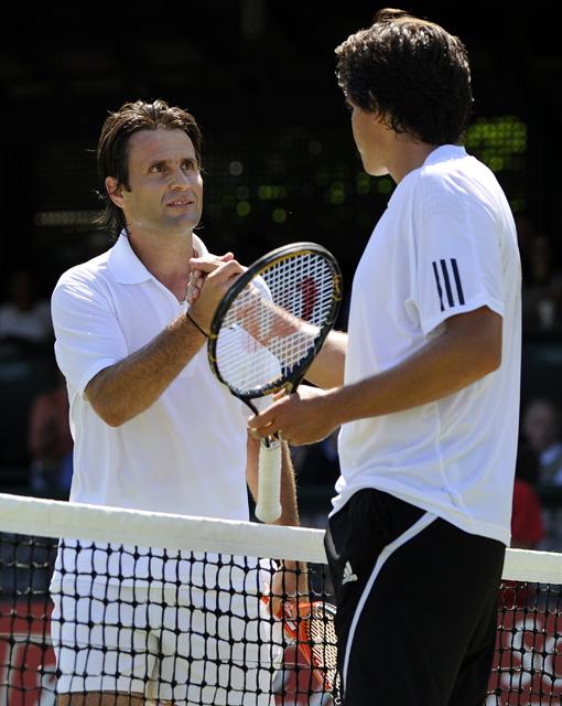 Tennis - Fabrice Santoro - Taylor Dent