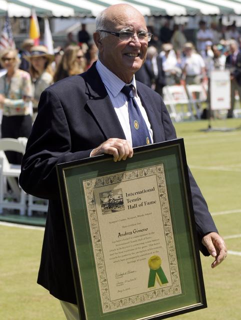 Tennis - Andres Gimeno