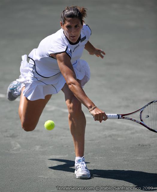 Tennis - Virginie Razzano