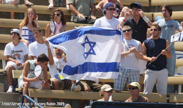 Tennis - Israeli Flag