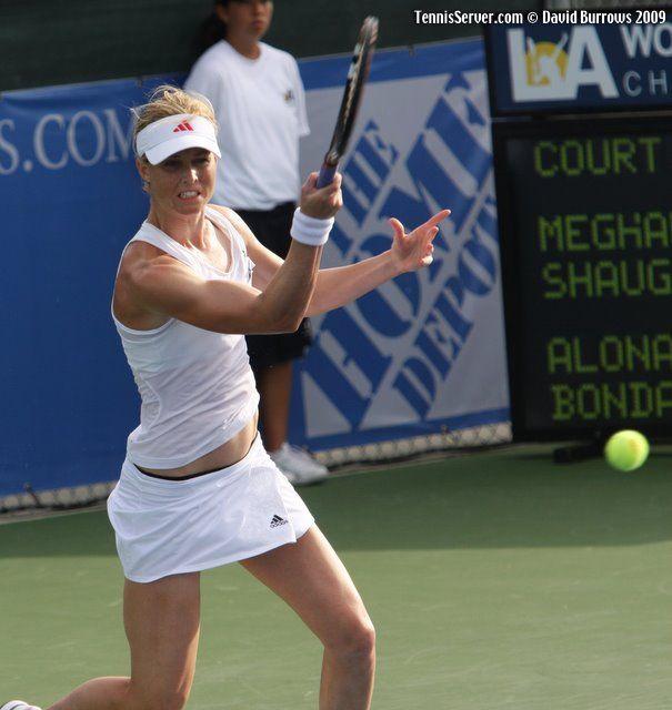 Tennis - Meghann Shaughnessy