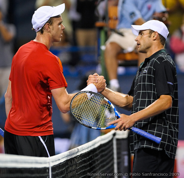 Tennis - Sam Querrey - Andy Roddick