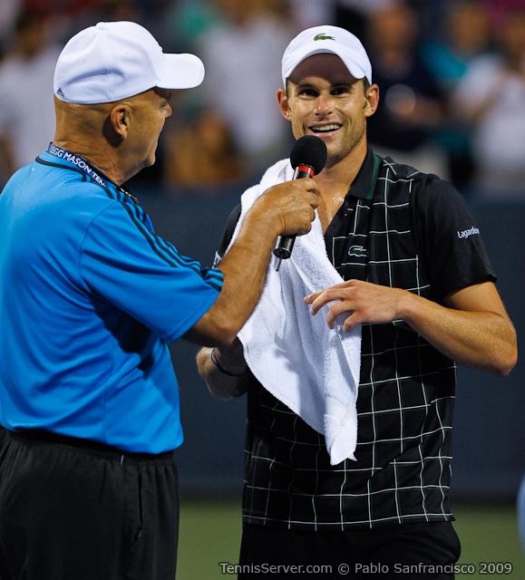 Tennis - Andy Roddick - Wayne Bryan