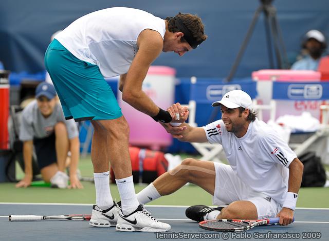 Tennis - Juan Martin Del Potro - Fernando Gonzalez