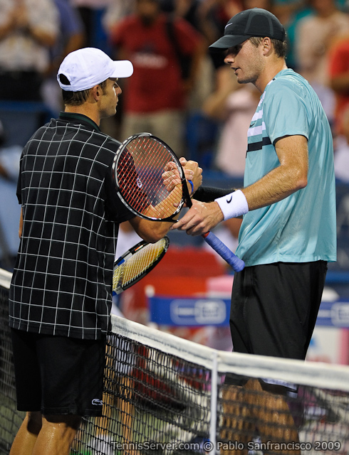 Tennis - Andy Roddick - John Isner