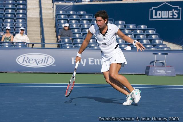 Tennis - Carla Suarez Navarro