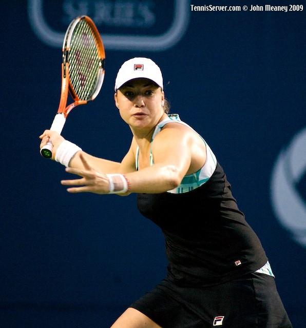 Tennis - Alisa Kleybanova