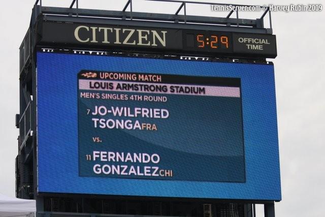 Tennis - Fernando Gonzalez - Jo-Wilfried Tsonga