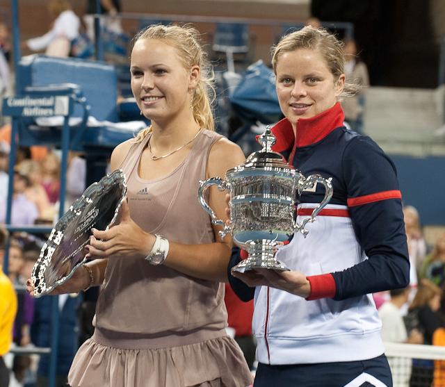 Tennis - Kim Clijsters - Caroline Wozniacki