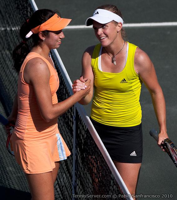 Christina McHale - Melanie Oudin Tennis