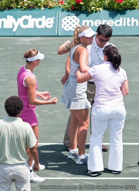 Caroline Wozniacki - Vera Zvonareva Tennis