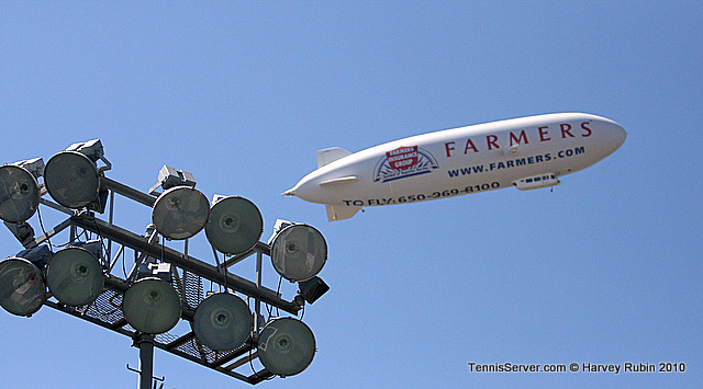 Farmers Classic Blimp Tennis