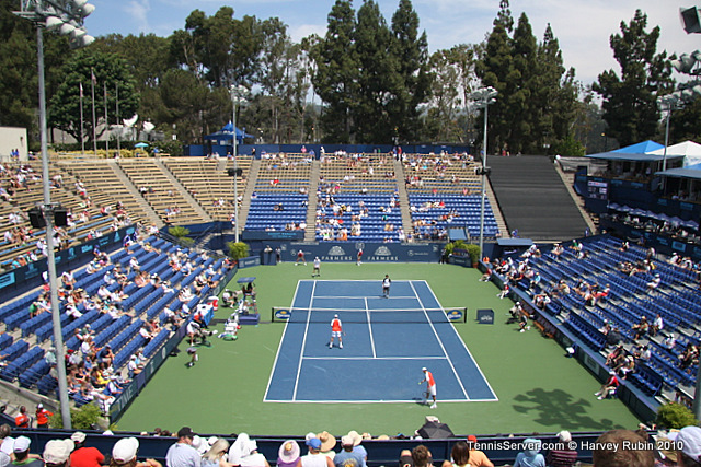 Bob Bryan Mike Bryan Eric Butorac Jean-Julien Rojer Farmers Classic Tennis