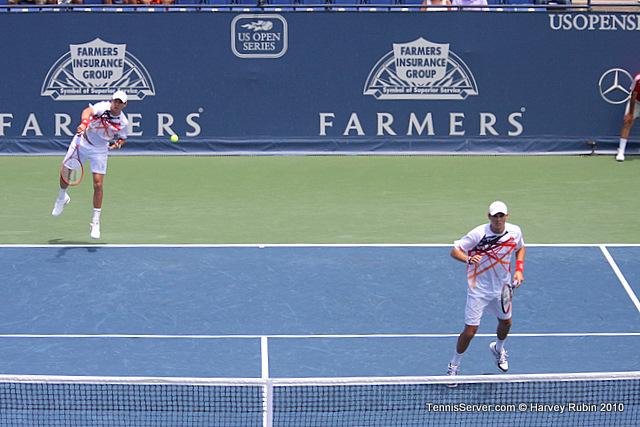 Bob Bryan Mike Bryan Farmers Classic Tennis