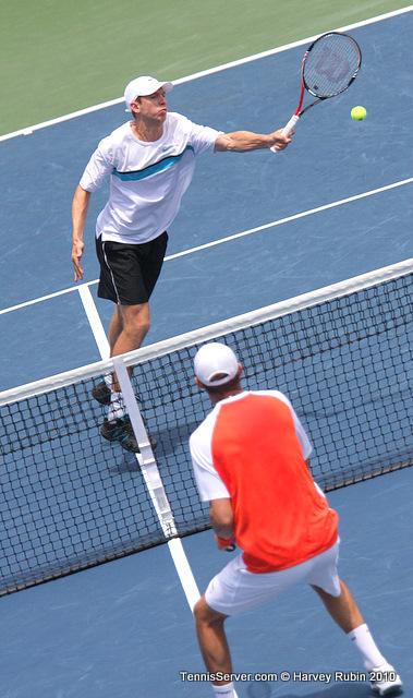 Eric Butorac Bob Bryan Farmers Classic Tennis