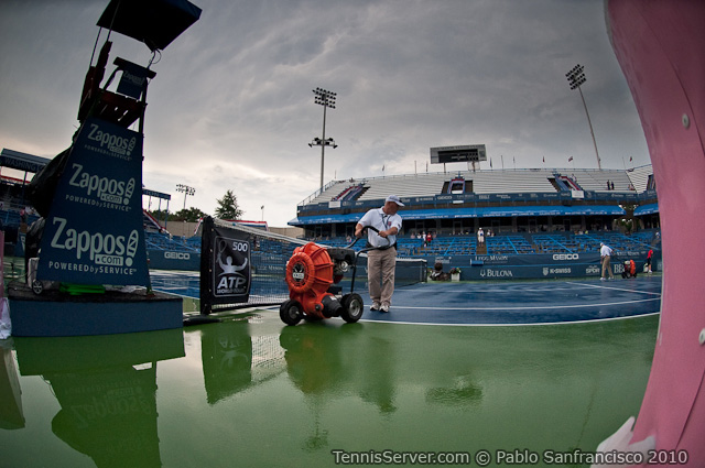 Rain Delay Legg Mason Tennis