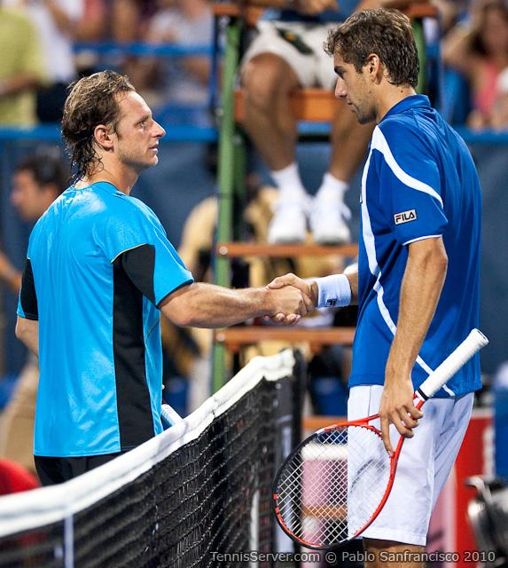 David Nalbandian Marin Cilic Legg Mason Tennis