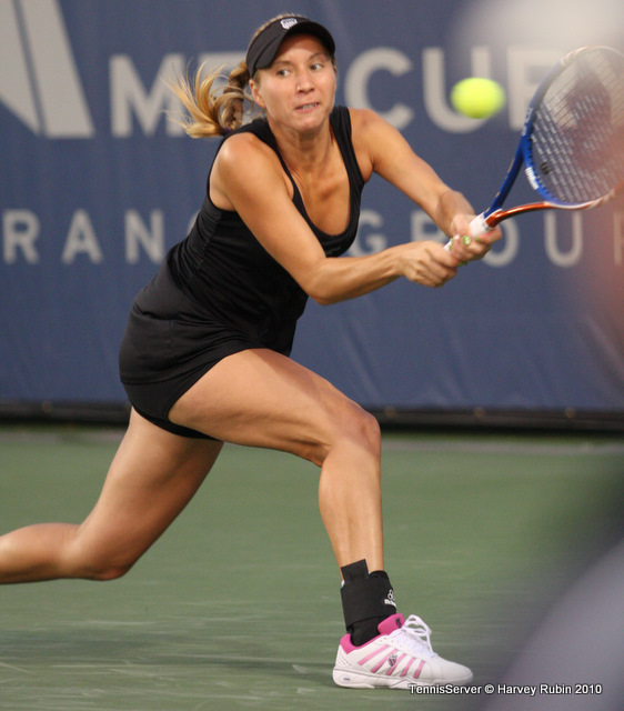 Alona Bondarenko Mercury Insurance Open Tennis